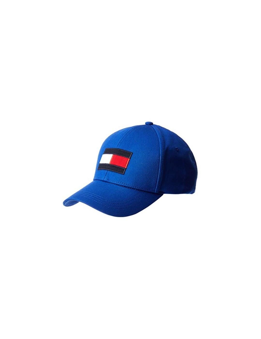 GORRA TOMMY JEANS BIG FLAG CAP BLUE