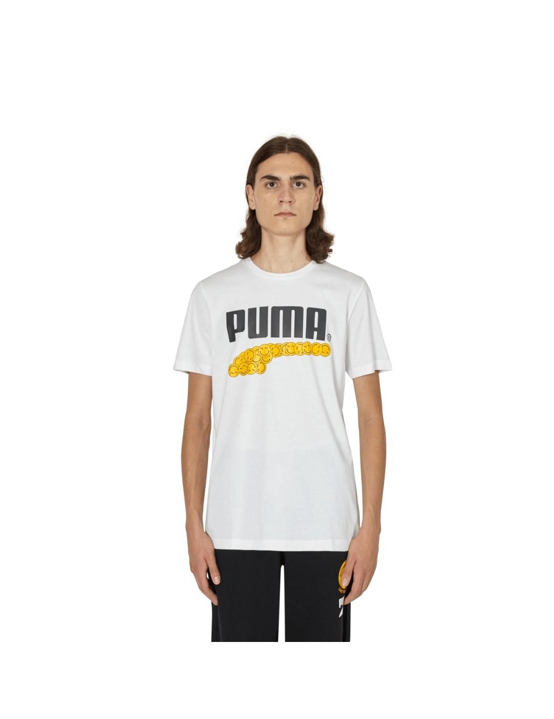 CAMISETA PUMA CLUB GRAPHIC TEE PUMA WHITE