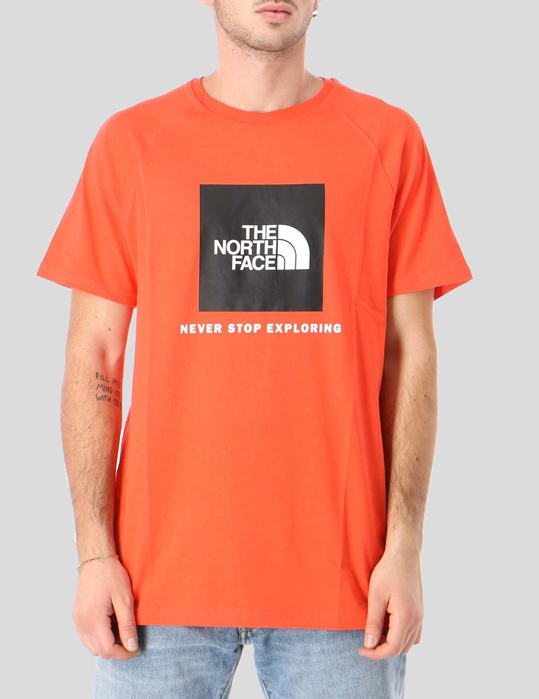 CAMISETA THE NORTH FACE S/S RAG RED BOX TEE FLARE