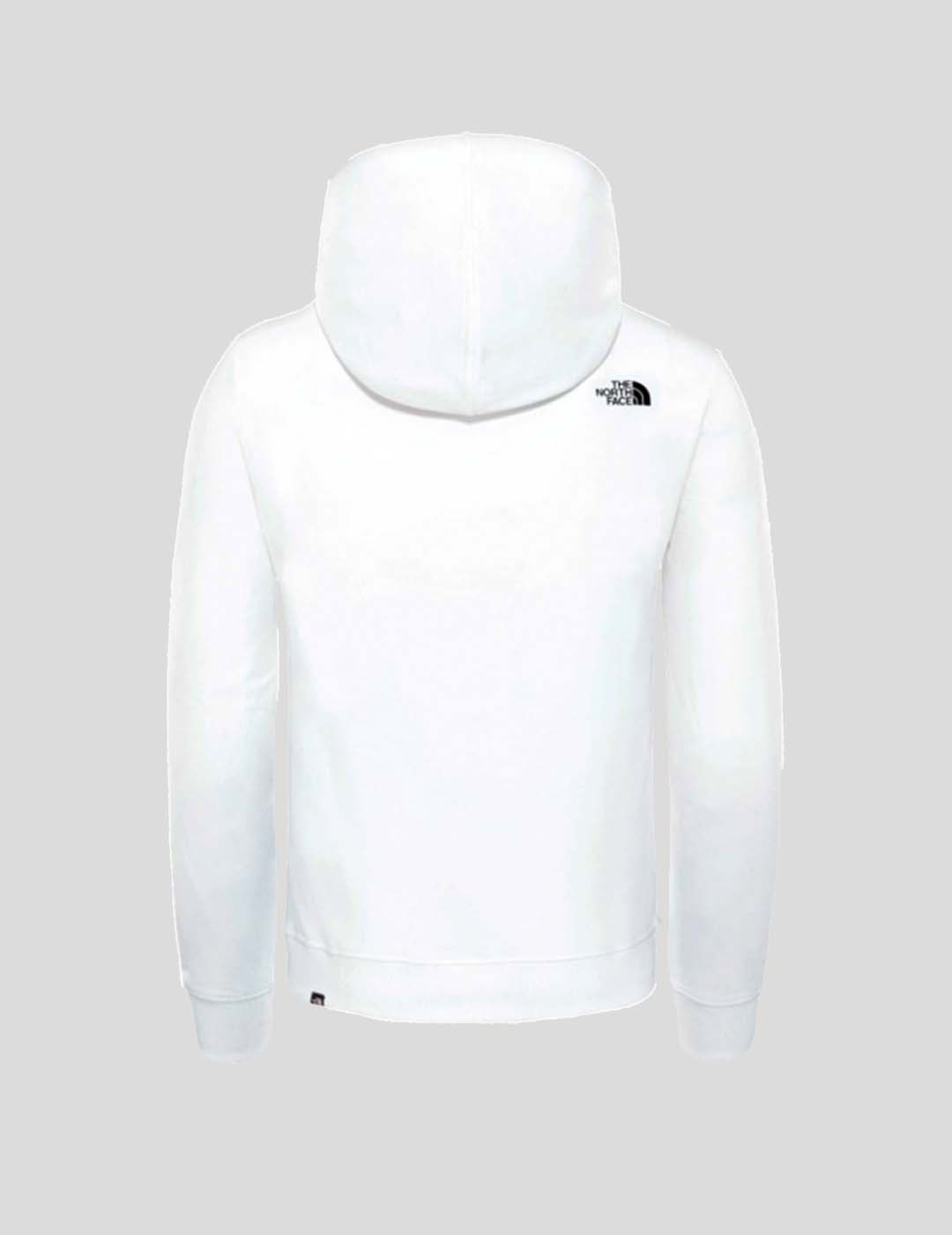 SUDADERA THE NORTH FACE STANDARD HOODIE TNF WHITE