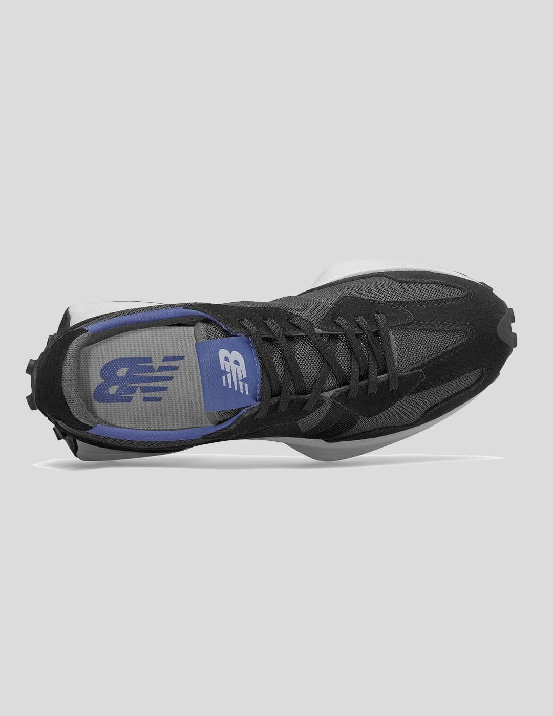 ZAPATILLAS NEW BALANCE 327 BLACK WITH MAGNETIC BLUE
