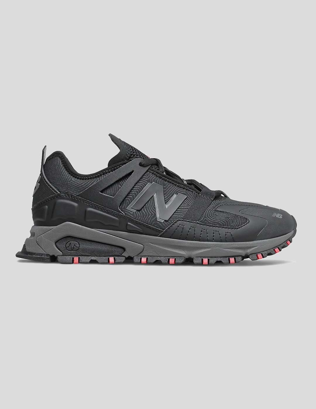 ZAPATILLAS NEW BALANCE XRCT BLACK WITH ENERGY RED