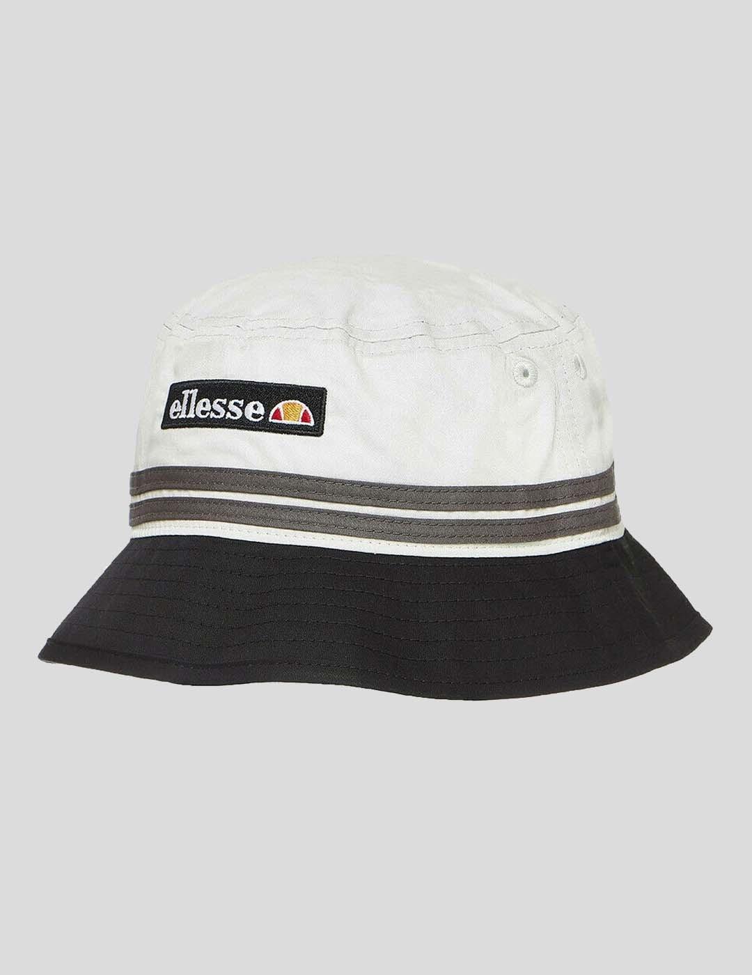 GORRA ELLESSE LEVAN BUCKET HAT BLACK LIGHT GREY