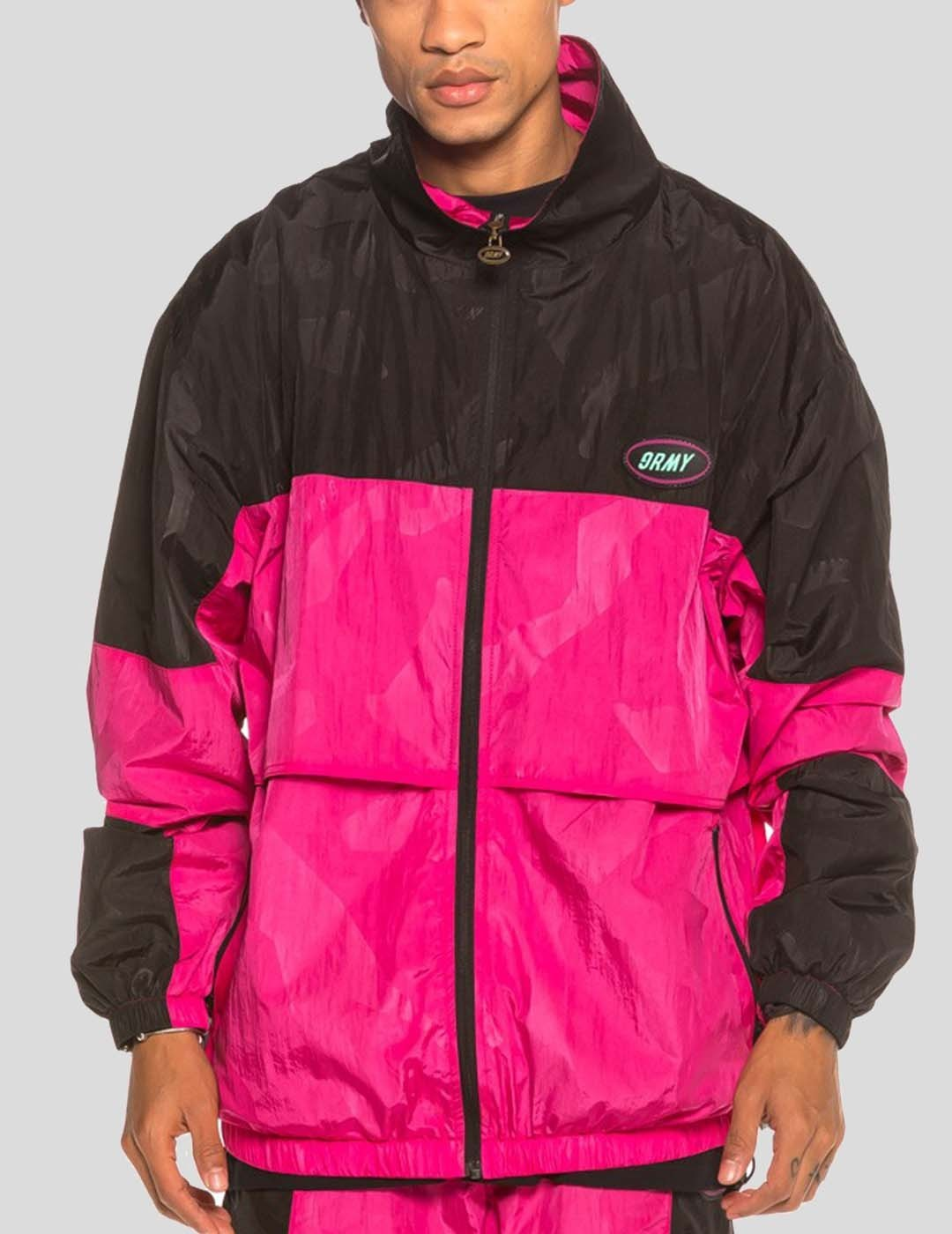 CHAQUETA GRIMEY MYSTERIOUS VIBES TRACK JACKET PINK