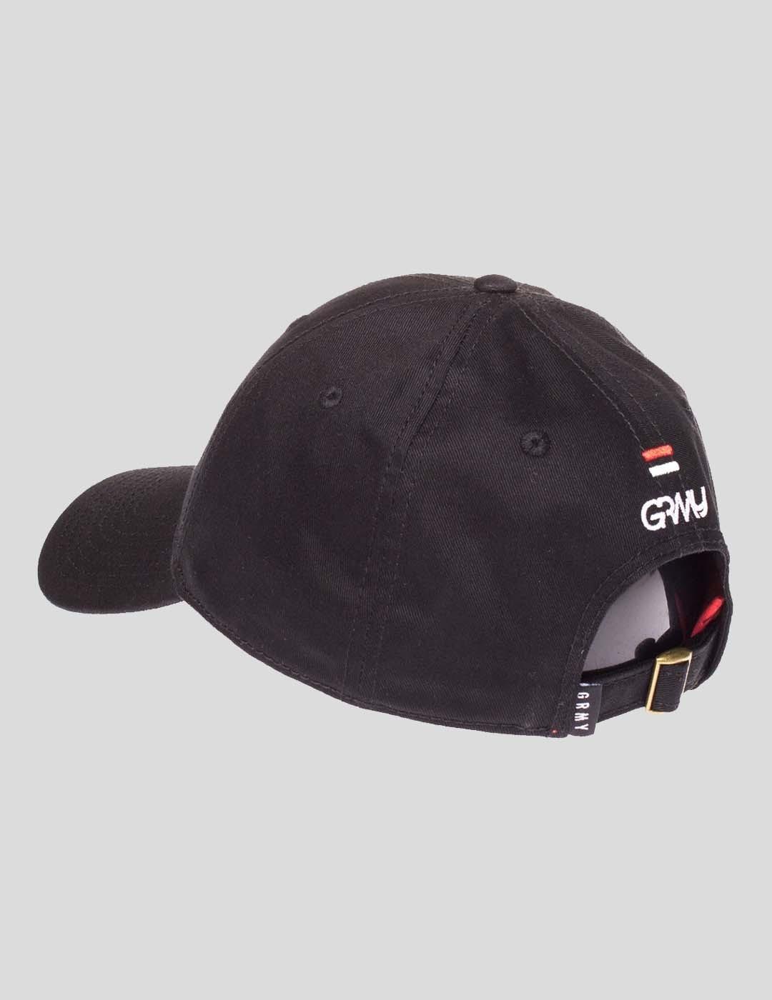 GORRA GRIMEY HALF COURT LINE CURVED CAP BLACK