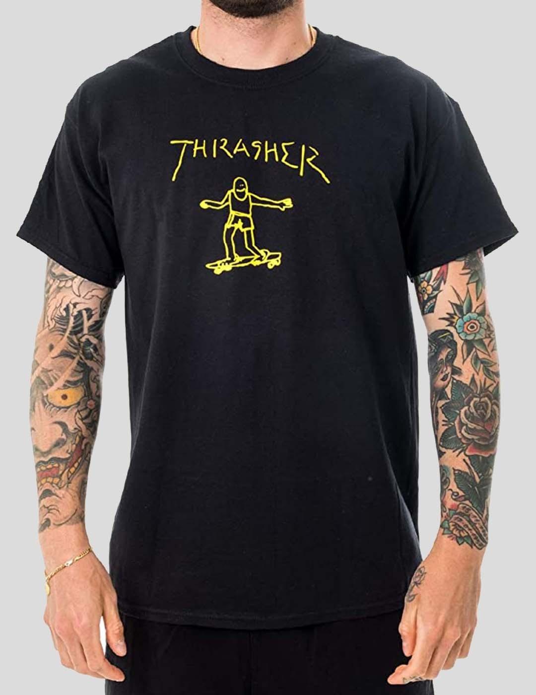 CAMISETA THRASHER GONZ TEE BLACK