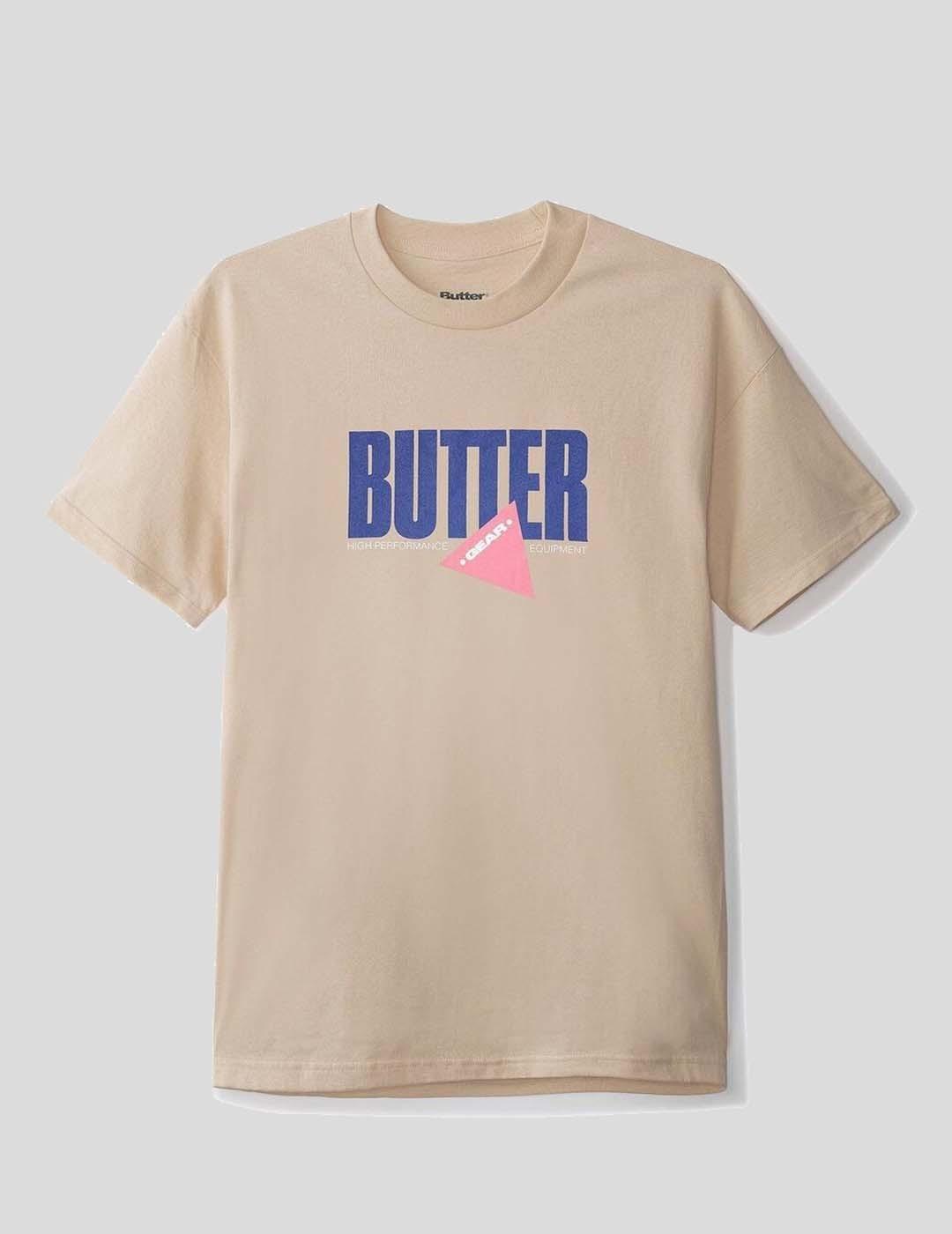 CAMISETA BUTTER GOODS EQUIPMENT TEE SAND