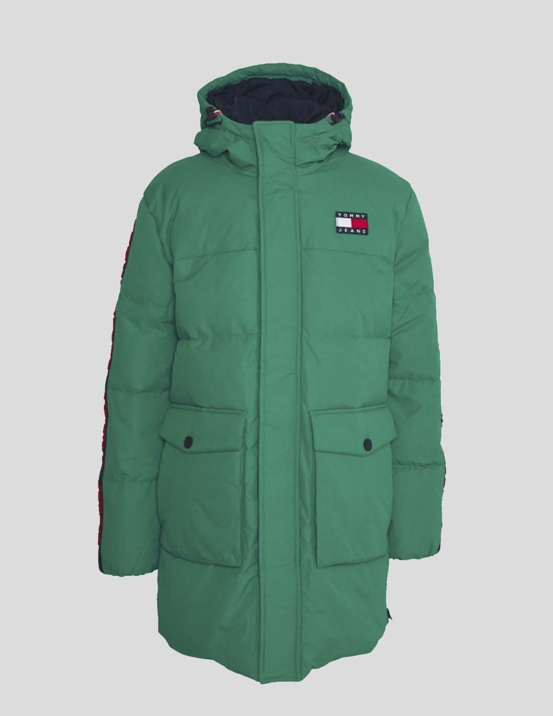 CAZADORA TOMMY JEANS STATEMENT DOWN PARKA MIDWEST GREEN