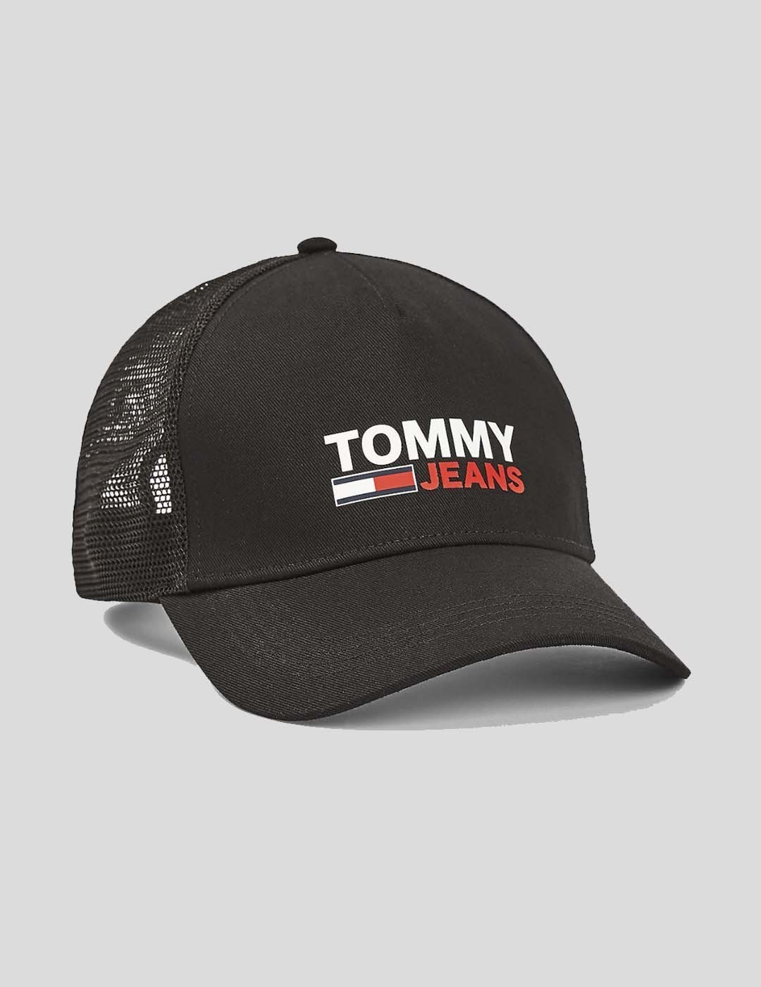 GORRA TOMMY JEANS TJM LOGO TRUCKER CAP BLACK