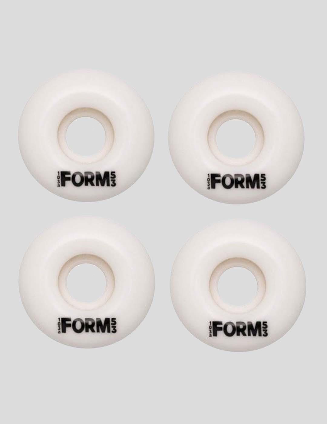 RUEDAS FORM FORM BASIC WHEELS WHITE