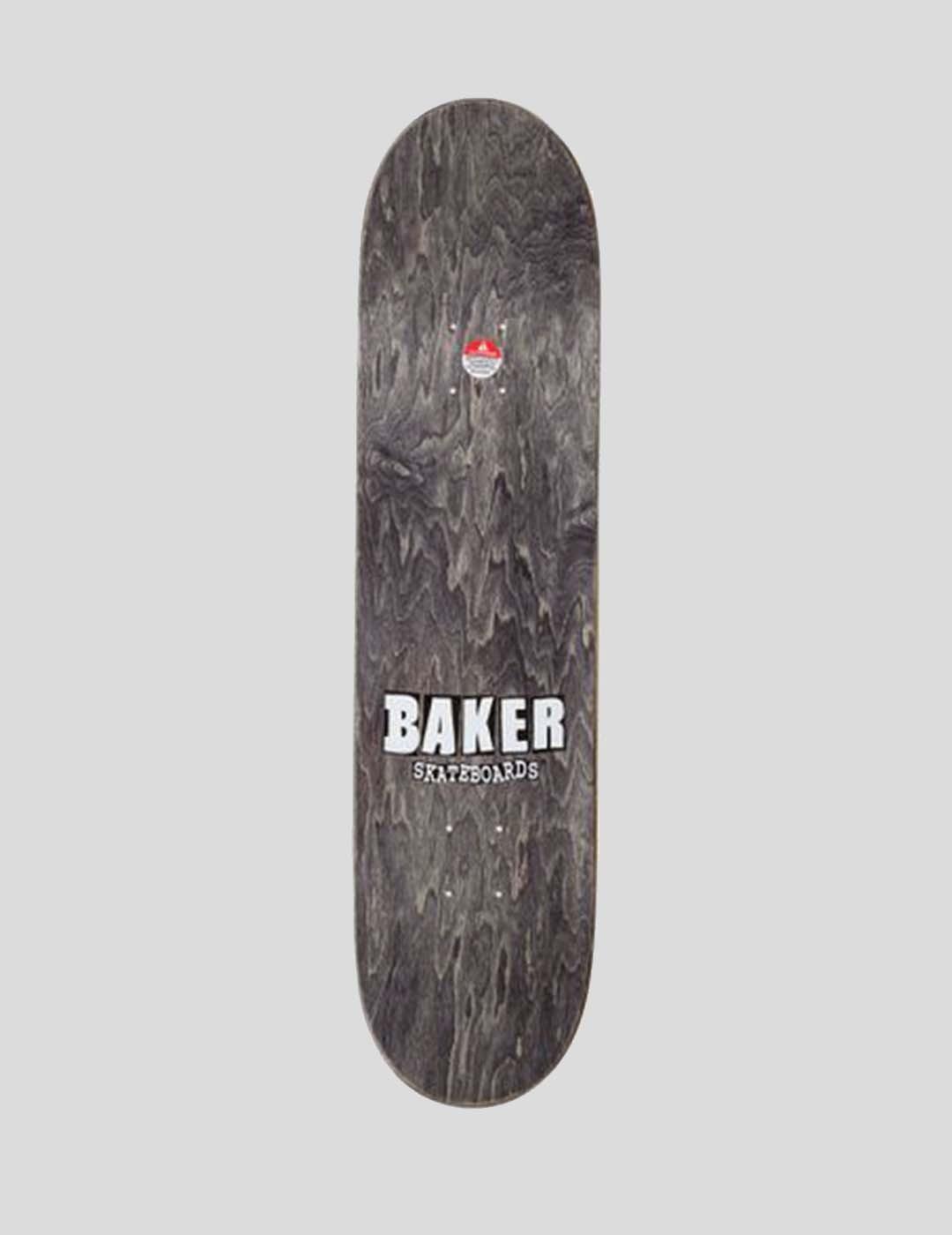 TABLA BAKER BRAND LOGO RED WHITE DECK