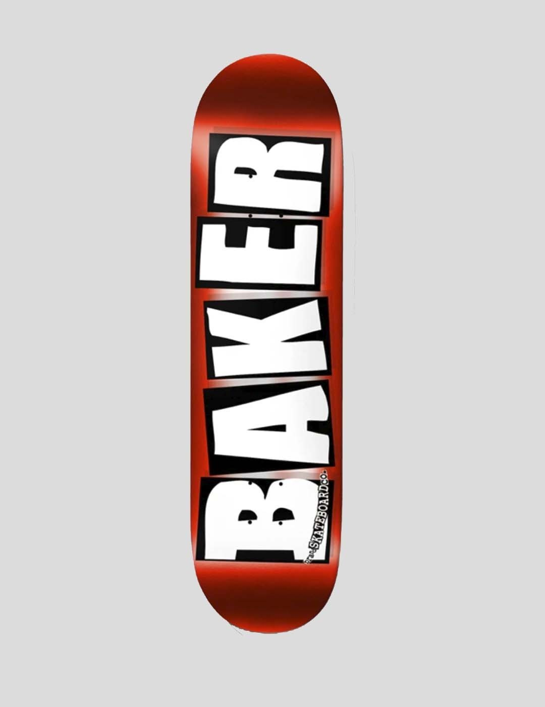 TABLA BAKER BRAND LOGO RED FOIL DECK