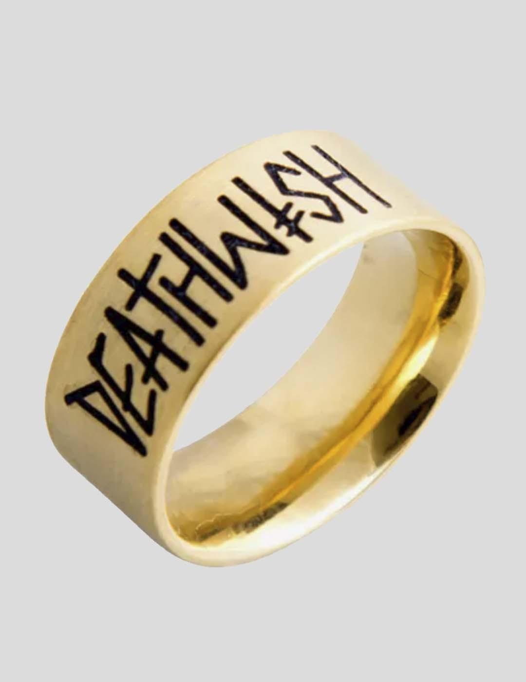 ANILLO DEATHWISH DEATHSPRAY GOLD RING  GOLD
