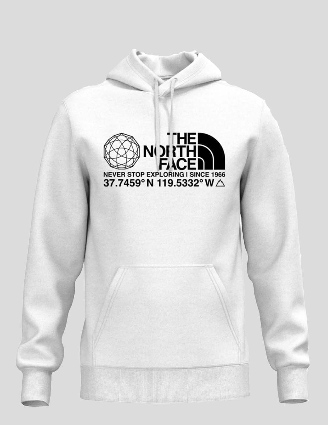SUDADERA THE NORTH FACE COORDINATES HOODIE TNF WHITE