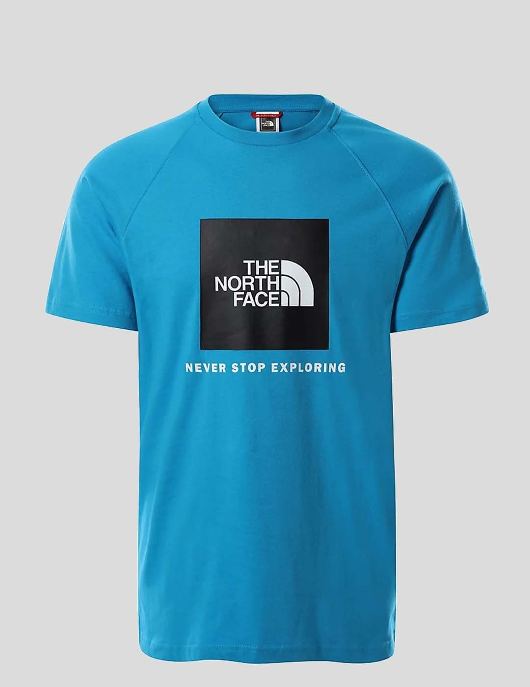 CAMISETA THE NORTH FACE S/S RAG RED BOX TEE MERIDIAN BLUE