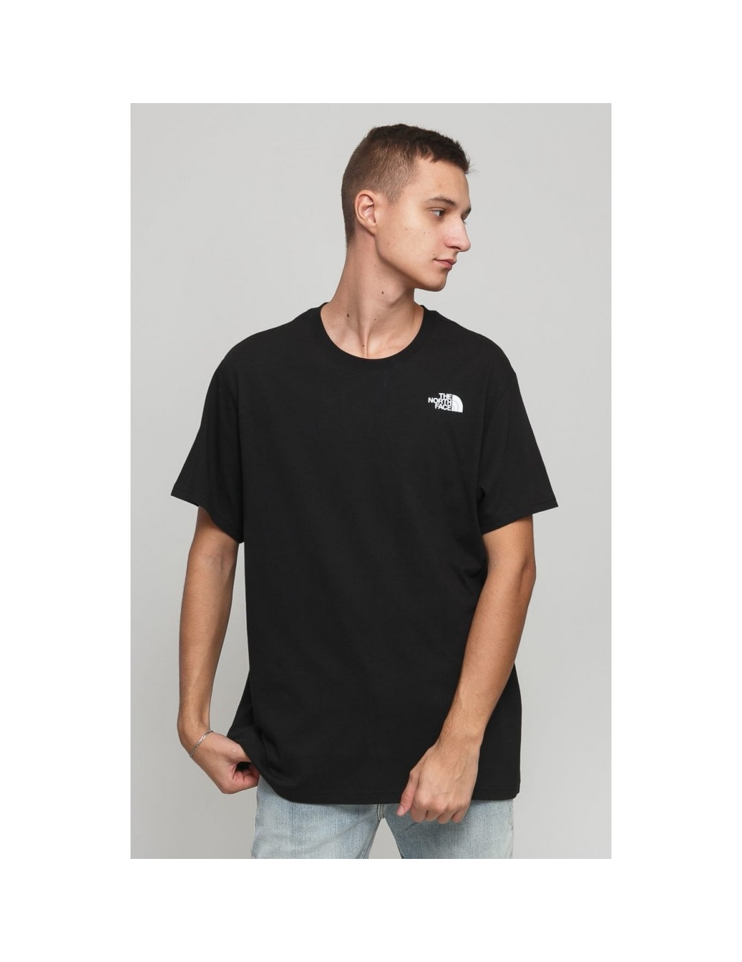 CAMISETA THE NORTH FACE S/S RED BOX TEE TNF BLACK