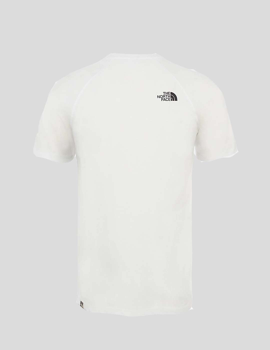 CAMISETA THE NORTH FACE S/S RAG RED BOX TEE TNF WHITE